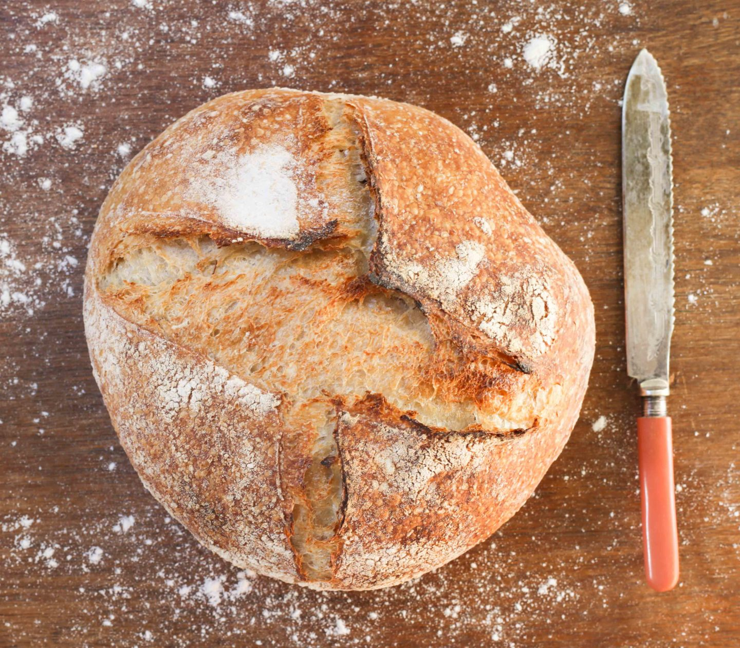 homemade sourdough bread by melbourne food blogger